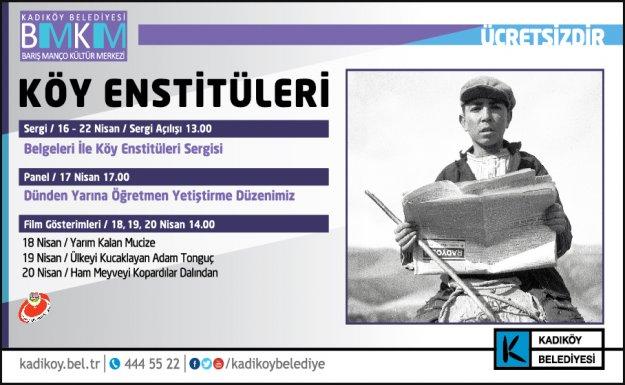 Kadıköy Belediyesi Köy Enstitüleri'nin Kuruluşunu Kutlayacak