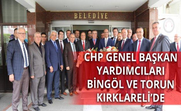 Genel Başkan Yardımcılarından Kesimoğlu'na Ziyaret