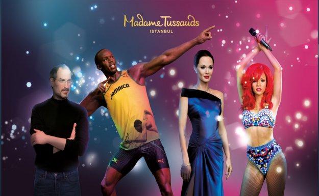 Madame Tussauds'nun 21. Cazibe Merkezi İstanbul