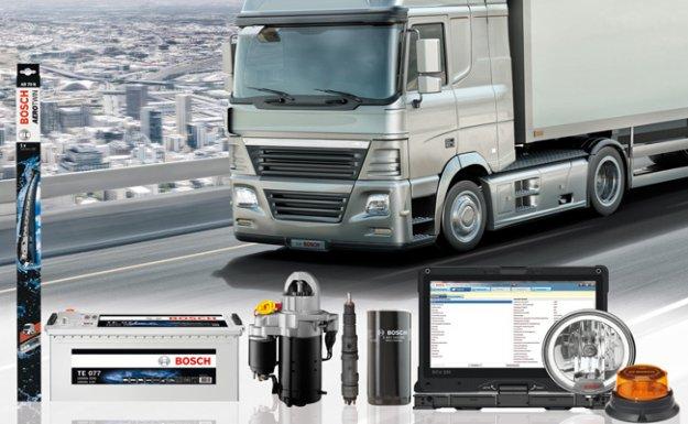 Bosch'tan Ticari Araçlara Çözümler