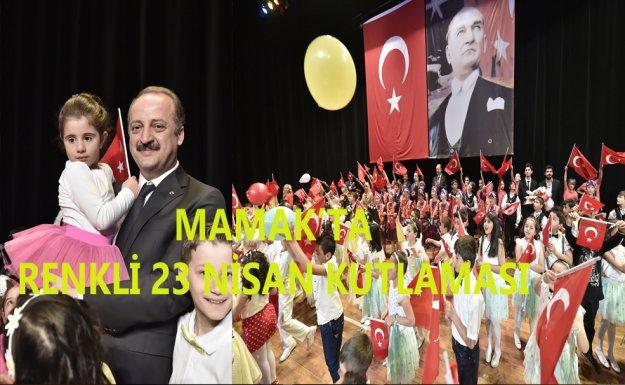 Mamak'ta 23 Nisan'a Renkli Kutlama