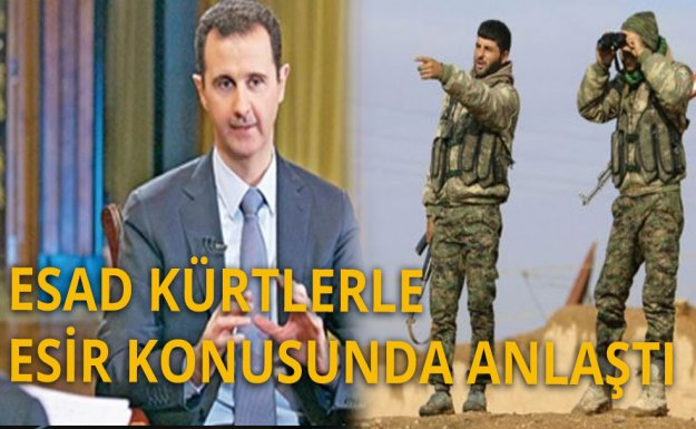 Kürtlerle Esad Anlaştı