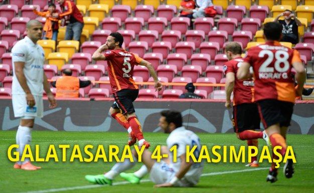 Galatasaray Ligde Kazandı ''4 - 1''