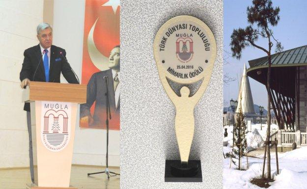 Türk Dünyası Mimarlık Ödülü Ahmet Vefik Alp'in