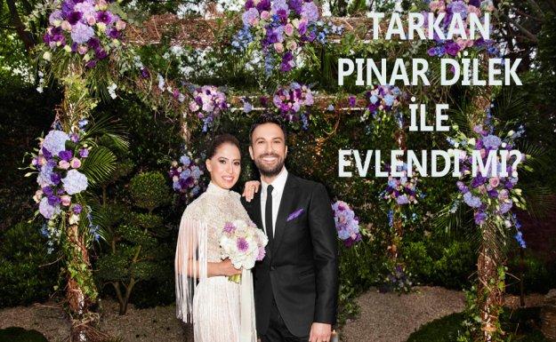 Tarkan Pınar Dilek İle Evlendi