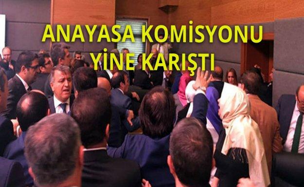 Anayasa Komisyonunda Kavga Kaldığı Yerden Devam Ediyor