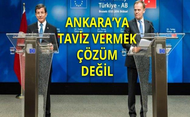 İngiliz Basını: Ankara'ya Taviz Vermek Mülteci Sorununa Çözüm Değil