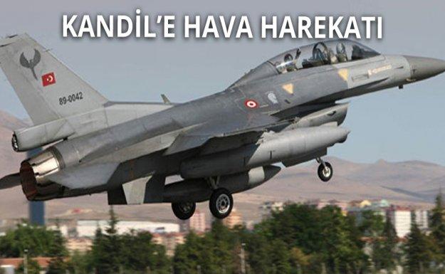 Türk Jetlerinden Kandil'e Hava Harekatı