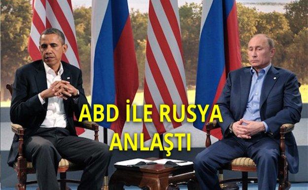 ABD İle Rusya Suriye Üzerinde Anlaştı