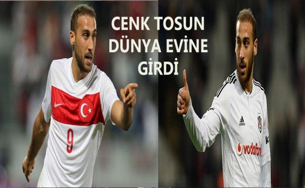 Beşiktaş'lı Futbolcu Cenk Tosun Dünya Evine Girdi