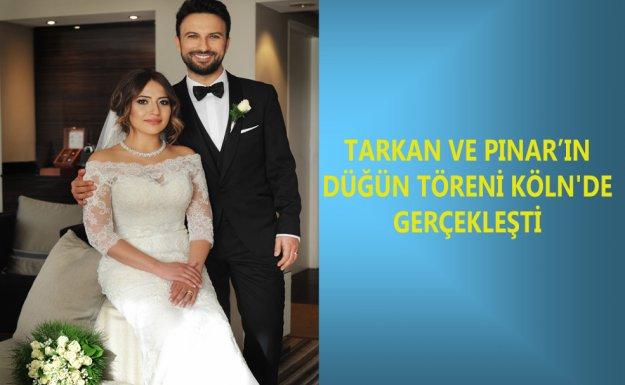 Tarkan Ve Pınar Dilek'in Düğün Töreni Köln'de Gerçekleşti