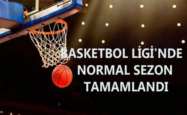 Spor Toto Basketbol Ligi'nde Normal Sezon Sona Erdi