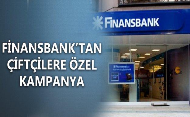 Finansbank'tan Çiftçiler Günü'ne Özel Kampanya