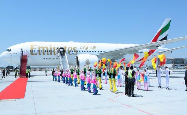 Emirates, Çin'deki Ağına İki Yeni Destinasyon Ekledi