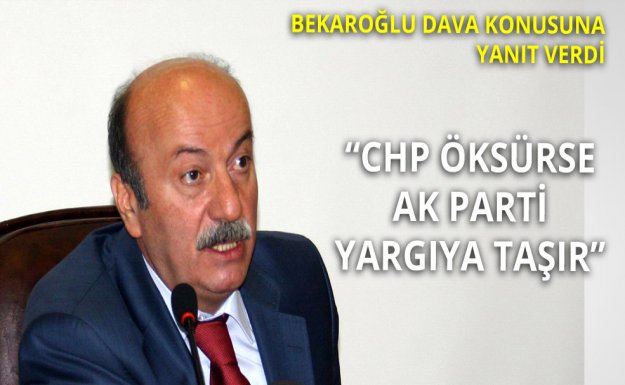 CHP'den Dava Yanıtı