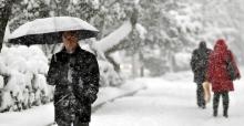 İç Anadolu'da 20 Santim Kar Bekleniyor