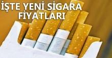 Yeni Sigara Fiyatları Belli Oldu