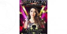 Miss Global Dünya Güzellik Yarışmasında Azerbaycan'ı Bir Türk Kızı Temsil Edecek