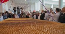 513 Kilogram Türk Baklavası Rekor Kırdı