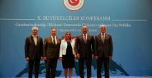 Bakanlar ve Büyükelçiler 10. Büyükelçiler Konferansı'nda İş İnsanlarıyla Bir Araya Geldi