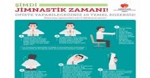 Sağlıklı Bir Yaşam İçin Masa Başı Egzersizlerine 5 Dakikanızı Ayırın