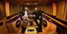 Megastar Tarkan, Özel Tasarım Ultra Lüks VIP Minibüs Yaptırdı