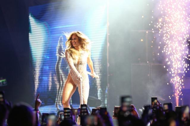 Jennifer Lopez Antalya'da Fırtına Gibi Esti
