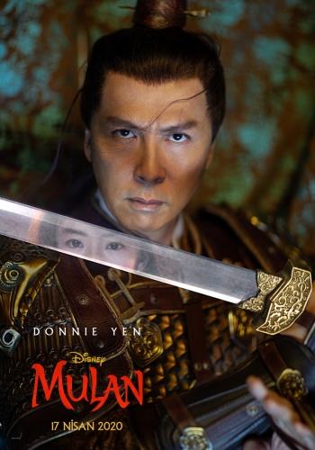 Mulan filminin karakter afişleri yayınlandı