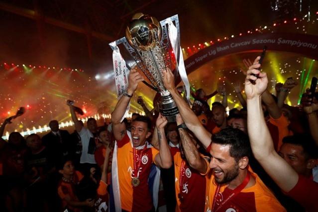 Galatasaray'ın Şampiyonluk Kutlaması