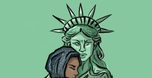 ABD'nin Göçmenlere Yönelik Yasağına Karikatürlü Tepki
