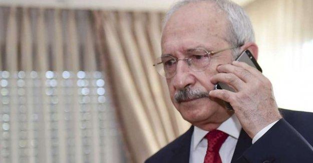Kılıçdaroğlu, Başbakanı ve Genelkurmay Başkanını Aradı