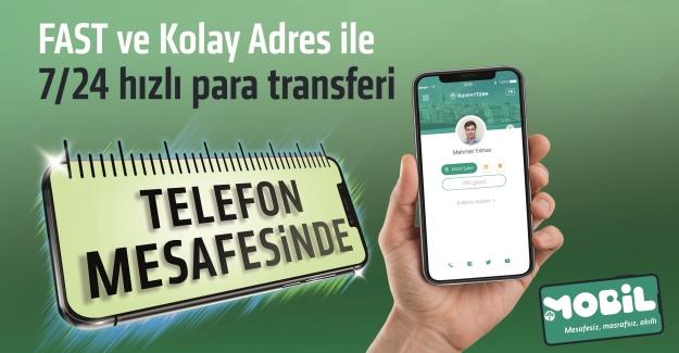 Kuveyt Türk, FAST Ve Kolay Adres İle IBAN'sız 7/24 Para Transferini Başlattı