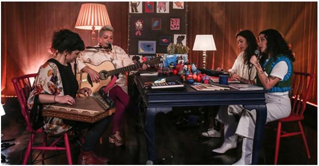 """Gülinler İle """"Bir Masada Oturduk""""  Yeni Bölümünde Melike Şahin'i Ağırlıyor"""