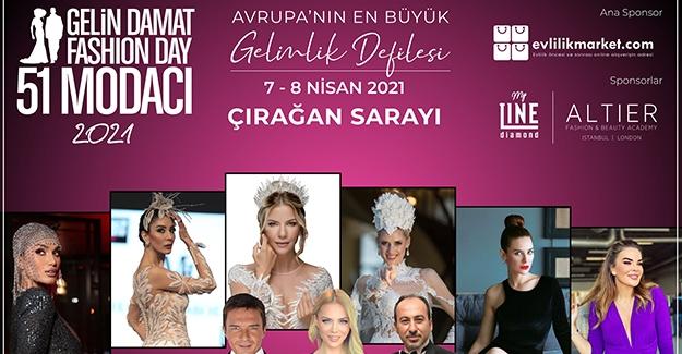 Avrupa'nın En Büyük Gelinlik Defilesi Gelin Damat Fashion Day 7- 8 Nisan'da Çırağan'da Gerçekleşiyor