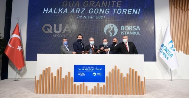 Borsa İstanbul'da Gong Qua Granite İçin Çaldı
