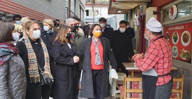 CHP'liler Bartın'da Esnafı Ve Üreticiyi Dinledi