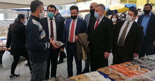 """Gelecek Partisi Genel Başkan Yardımcısı Özdağ, """"Esnaf Adeta Kan Ağlıyor, Siftah Yapamıyor"""""""