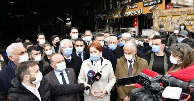 """İYİ Parti Genel Başkanı Akşener: """"Mağduriyetler Çok Geniş, Bir An Önce Giderilmesi İçin Çalışıyoruz"""""""