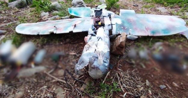 Teröristler Maket Uçakla Saldırmaya Çalıştı, Maket Uçak Hedefine Ulaşamadan Düşürüldü