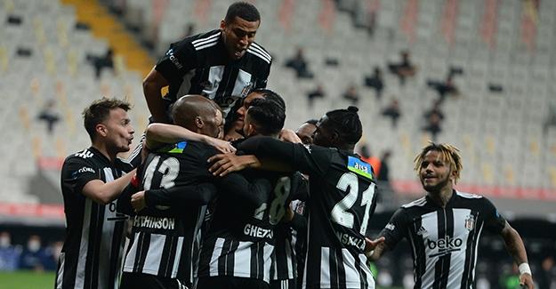 Beşiktaş, Hatayspor'u Gole Boğdu