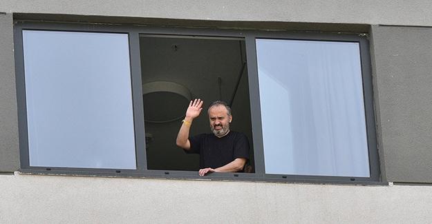 Bursa Büyükşehir Belediye Başkanı Alinur Aktaş Taburcu Oldu