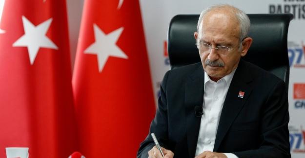 CHP Genel Başkanı Kılıçdaroğlu'ndan Şehit Askerimiz İçin Taziye Mesajı