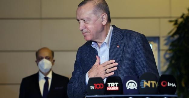 """Cumhurbaşkanı Erdoğan: """"İşçinin O Kutsal Alın Terini Sömürmek İsteyenlere Fırsat Vermeyeceğiz"""""""