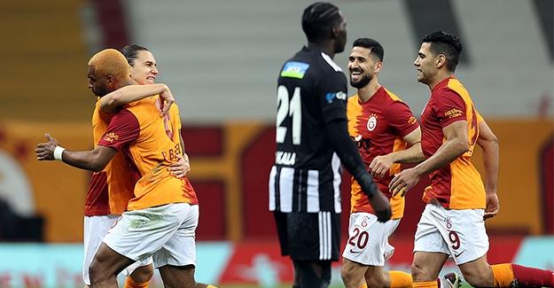 Galatasaray, Beşiktaş'ı Avladı
