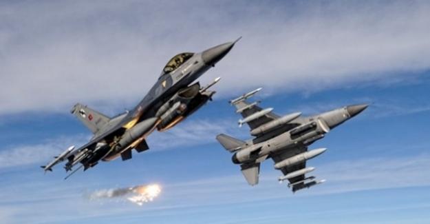 Metina Bölgesinde Tespit Edilen 3 PKK'lı Terörist Hava Harekatıyla Etkisiz Hâle Getirildi