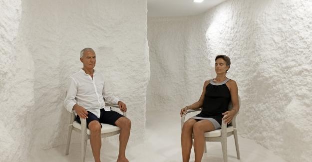 Vitalica Wellness'ta Tuz Terapisi Uygulaması