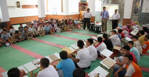 Yaz Kur'an Kursları 5 Temmuz'da Başlayacak