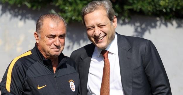 Başkan Elmas İle Terim, Florya Metin Oktay Tesisleri'nde Bir Araya Geldi