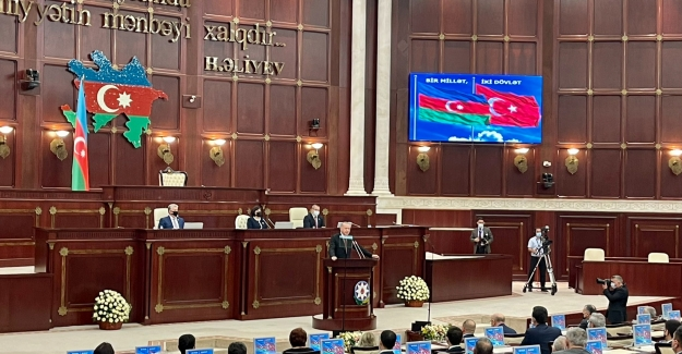 """""""Bugün Bütün İmkanlarımızla Azerbaycan'ın Yanındayız. Bütün Dünya Bilsin Ki Yarın Da Yanında Yer Alacağız"""""""