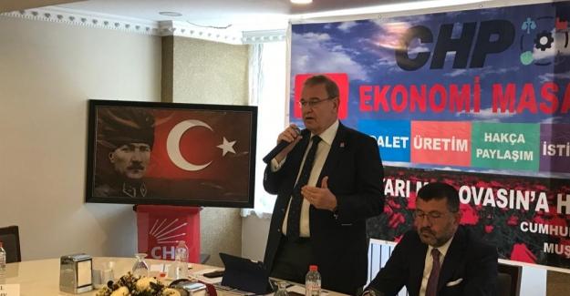 """CHP Sözcüsü Öztrak'tan Erdoğan'a Yanıt: """"Oradan Kalk, Milleti Nasıl Doyurduğumuzu Gör"""""""